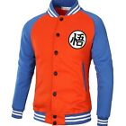Dragon Ball Coat Hip Hop Casual Male Jacket Moleton Masculino Slim Cotton Mens