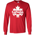 Team, Canada, Soccer, Retro, 1980's, Logo, Canadian, Sports, T-shirt