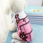 Cute Pet Puppy Small Dog Cat Pet Camisole Pink Clothes Costume Apparel Sport