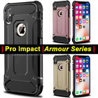 Hybrid Armor Shockproof Rugged Bumper Case For Apple iPhone XS MAX XS X 7 8 6 SE
