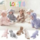 Kyпить Newborn Infant Boy Girl Romper Hooded Baby Jumpsuit Bodysuit Outfits Clothes на еВаy.соm