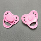 Dummy Magnetic Pacifier Fit Internal Magnet Reborn Baby Dolls Pink Blue White