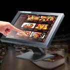LCD 15'' Touchscreen Monitor Cash Register Workstation Multi-Position POS stand