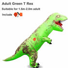Adults T-REX Inflatable Dinosaur Child Costume Jurassic Halloween Blowup Outfit