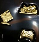 Monopoly Empire Edit. Gold-tone Tokens Coke Vet Cycle Fries Controller Directors $5.52  on eBay