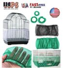 New Seed Catcher Guard Mesh Bird Cage Cover Shell Skirt Traps Cage Basket S/M/L