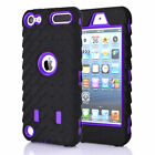 Hybrid Silicone Non-Slip Rugged Back Case Cover For Apple iPod Touch 5th/6th Gen