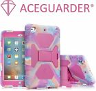 Kids Shockproof Hybrid Case Cover For iPad 2/3/4 iPad Mini 1/2/3 + Free Gifts