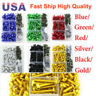 New CNC Anodized Motorcycle Bikes Windscreen Fairing Bolts Fastener Clips Screws $20.98 USD on eBay