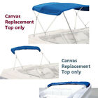 Boat Pontoon Bimini Top Fabric Canvas W/Boot / 3 Bow / 4 Bow фото