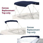 Boat Pontoon Bimini Top Fabric Canvas W/Boot / 3 Bow / 4 Bow (Without Frame)