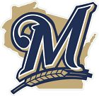 "Milwaukee Brewers State MLB Vinyl Decal Sticker - You Choose Size 2""-28"" on Ebay"