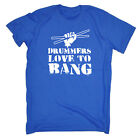 Music Band T-Shirt Funny Novelty Mens tee TShirt - Drummers Love To Bang