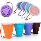 Внешний вид - Portable Silicone Telescopic Drinking Collapsible Folding Cup New Travel Camping