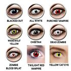 Color Contacts Eye Lenses HALLOWEEN Cosmetic Makeup Lens-case LAST 2 YEARS