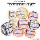 INDOOR ELECTRICAL WIRE W/GROUND CERROWIRE 6-3 8-3 10-2 10-3 12-2 12-3 SOLID