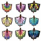 Butterfly Wing Large Fairy Cape Scarf Cloak Costume Shawl Wrap Peacock Cosplay