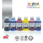 Trend Pigment Ink for use in Epson Printer Cartridge T0491 to T0496 R230 Rx630