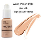 PHOERA Matte Full Coverage Liquid Foundation Makeuo Beauty