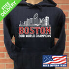 BOSTON RED SOX 2018 WORLD SERIES CHAMPIONSHIP HOODIE on Ebay