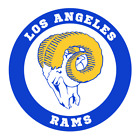Los Angeles Rams Classic Old School Permanent Decals $3.25 USD on eBay