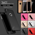 Luxury Ultra Slim Shockproof Hybrid Silicone 360 Case Cover For Iphone Phones