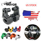 Motorcycle Handle Fat Bar HandleBar Mount Clamp Riser For Aprilia Triumph Buell $29.49 USD on eBay