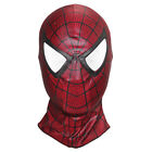 1x Spider Man Peter Park Red Mask Hood Venom Cosplay Full Face Mask Spider-man 3