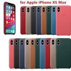 New Original Leather Case For Apple iPhone XS/XS Max Genuine OEM Leather Case.