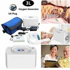 3L Mini Portable Oxygen Concentrator Generator With Lithium Battery Home Travel