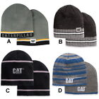 Caterpillar CAT Logo Beanie Construction Cap Hat Tractor Trucker Equipment Men