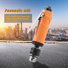 """1 4"""" Straight Air Power Drill High Speed 3 8"""" Chuck Pneumatic Drilling Tool Kit"""