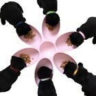 6 in 1 Cats Dogs Bowls 6 Petal Shape Water Food Feeder Plate For Multiple Pet