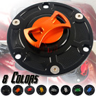 Motorcycle CNC Fuel Gas Tank Cap Cover Aluminum Keyless for APRILIA RS125/RS250 $25.26 USD on eBay