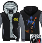 Star Wars Hoodie Darth Vedar Winter Thicken Warm Sweatshirt Lacer Zipper Jacket