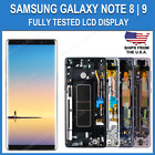 OEM Samsung Note 8 LCD Replacement Screen Digitizer With Frame Dot