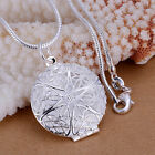 Wholesale 925+Box Silver SilverChain Necklace Pendant  Womens Ladies Jewellery