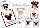 CHRISTMAS DISNEY TRIP IRON ON T SHIRT TRANSFER PERSONALISED