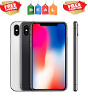 Apple WARRANTY iPhone X(10) - AT&T - (64,256)GB - Space Gray, Silver A1901 (GSM)