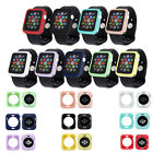 For Apple Watch iWatch Series 4 3 2 Bumper Silicone Protector Case Cover 38-44mm image