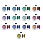 1g Mirror Effect Nail Glitter Dust Powder Colorful For Nail Art Manicure MTSSII