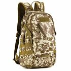 Sports Backpack 20L Waterproof Military Tactical Army Camping Rucksack Durable