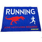 Gym Sweat Microfiber Sports Towel Jogging Funny Running Some Motivation Required