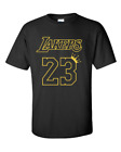"""Lebron James Los Angeles Lakers """"King James 23"""" T-Shirt  LAll Sizes S-3XL on eBay"""