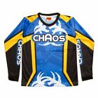 Chaos Kids Off Road Motocross Shirt Blue