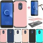 For Alcatel Tcl Lx/ideal Xtra/1x Evolve/avalon V Shockproof Armor Slim Tpu Case