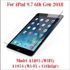 Premium Tempered Glass Screen Protectors for iPad 2018 and Other Models