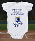 Kansas City Royals Onesie Bodysuit Shirt Love Watching WIth Mommy on Ebay