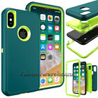 For Apple iPhone XS Max XR XS X 7 8 Plus Case Shockproof Hybrid Heavy Duty Cover
