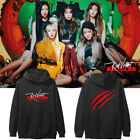 Kpop Red Velvet RBB Fanmade Cotton Hoodie Unisex Youth Sweatshirt Casual Tops